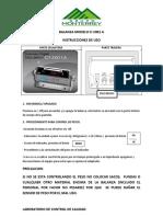 Uso de La Balanza Cas Ci2001 A