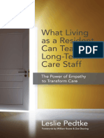 What Living as a Resident Can Teach Long-Term Care Staff
