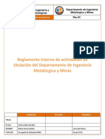 Reglamentos DIMM Actividad de Titulación