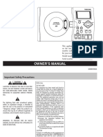 CD Vt1mkii Manual