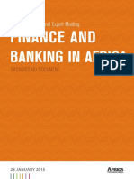 Finance and Banking in Africa