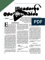 Amplificadores Operacionales Teoria y Practica