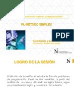 Session2 - ProgLineal - Metodo Simplex Maximizacion