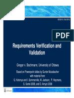 SEG3101-Ch4-1 - Verification and Valildation