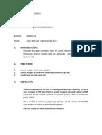 Informe de Mapeo Pucayacu