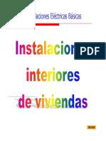 Instalaciones Interiores de Viviendas