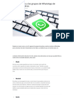 5 Alternativas a Los Grupos de WhatsApp de Padres y Madres