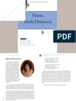 Dickinson Poems