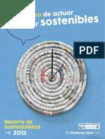 Reporte de Sostenibilidad2013