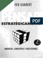LECTURA 2  Cap.3 Ventaja Competitiva y Estrategia (Pensar Estratégicamente,Gimbert 2010)