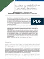 Production et commercialisation des animaux et produits d'origine animale au Maroc- les productions bovines et ovines