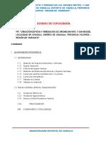 ESTUDIO TOPOGRAFICO chaglla