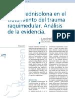 PAPER 1 METILPREDNISONA EN EL TRATAMIENTO DEL TRAUMA.pdf