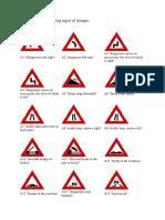 Road Signs Bulgaria