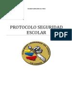 Protocolo Seguridad Escolar Colegio Leonardo Da Vinci