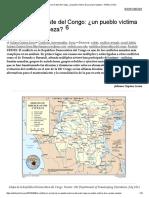 Conflicto en El Este Del Congo_ ¿Un Pueblo Víctima de Su Propia Riqueza_ « Política Crítica