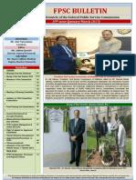 FPSC Bulletin 39th Issue Jan-March 2017