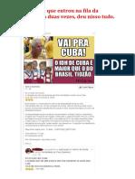 Mito Do IDH Cubano