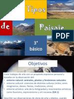 Tipos de Paisajes Geomorfologia