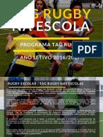 Programa Tag Rugby 16 17