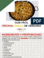 Paella de Verduras (Paella de La Huerta)