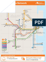 Sydney Rail and Ferry Map | Sydney | Public Transport