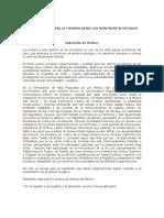 Propuesta de Nueva Ley Minera Desde Los Movimientos Sociales