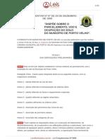 Lei-complementar-97-1999-Porto-velho-RO - Lei de Zoneamento.pdf