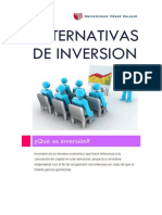 Alternativas de Inversion Silvia