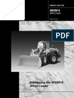WA250 6Product Bulletin