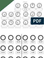 Guia de Reloj Analogo