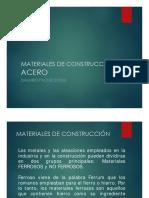 Materiales de Construcción - Acero