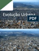 Evolução Urbana Sta Maria RS