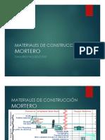 Materiales de Construcción - Mortero