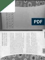 BOURDIEU, P. Questões de Sociologia