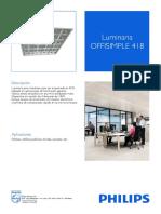 Luminaria OFFISIMPLE 418