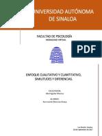 Enfoque Cualitativo y Cuantitativo 20 de SEPT 2017
