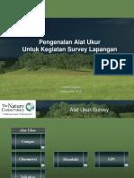 Pengenalan Alat Ukur Survey