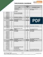 2013 Tafe School Calendar