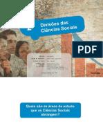 As Divisões Das Ciências Sociais 2017