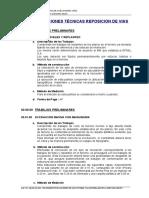 03.- Especificaciones Técnicas Reposicion Vias -San Carlos