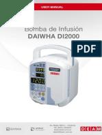 Bomba de Infusion Medifuion d1-2000