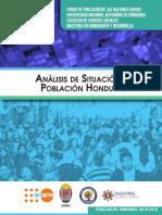 Analisis de Situacion de Poblacion Honduras