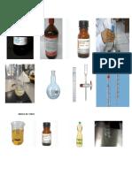 Materiales Para Iodo y Peroxido