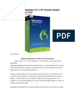 Dragon NaturallySpeaking v12