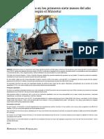 Exportación Minera Aumentó en 23.9%
