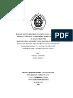 Laporan Resume HDR