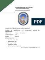 Informe 3 Operaciones Basicas