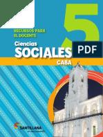 Sociales 5 Caba Docente