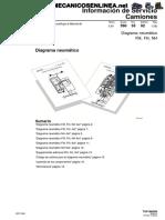 Diagrama neumautico FH FM NH Volvo